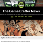 Faza wins the game crafter's big box challenge